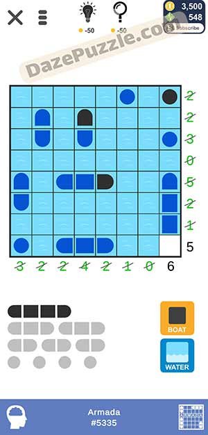 Puzzle page Armada March 18 2021 daily puzzle answer