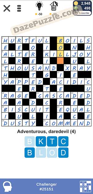 Puzzle Page Challenger March 12 2021 Answers