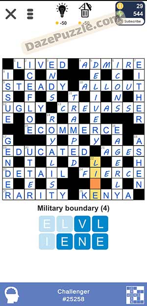 Puzzle Page Challenger March 26 2021 Answers
