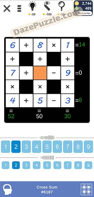 Puzzle Page Cross Sum March 10 2021 Answers