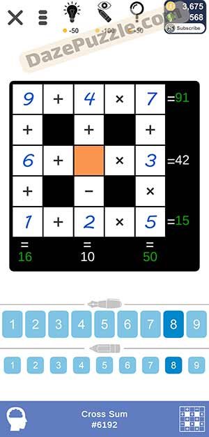 Puzzle Page Cross Sum March 19 2021 Answers