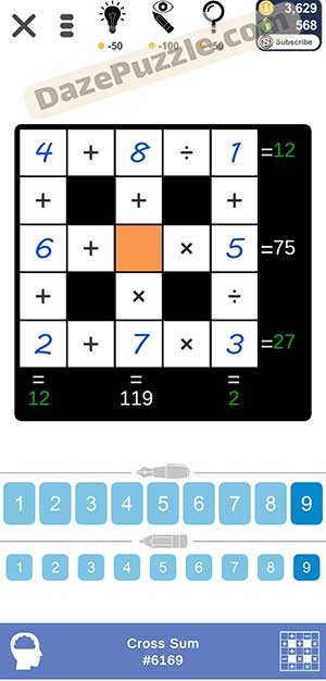 Puzzle Page Cross Sum March 24 2021 Answers