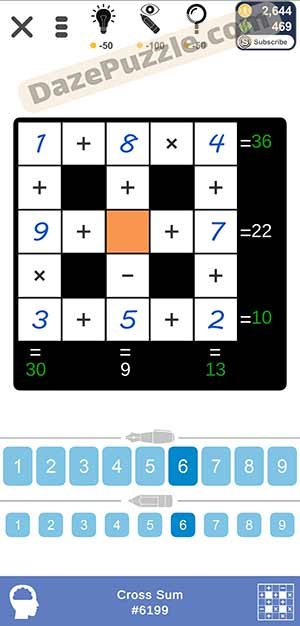 Puzzle Page Cross Sum March 8 2021 Answers