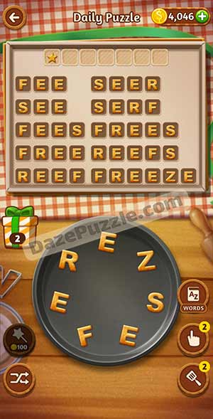 word cookies March 11 2021 daily puzzle answer