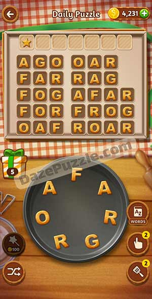 word cookies March 17 2021 daily puzzle answer