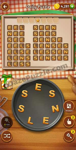 word cookies March 18 2021 daily puzzle answer