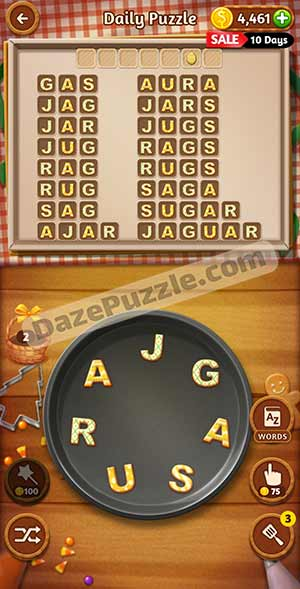 word cookies March 25 2021 daily puzzle answer