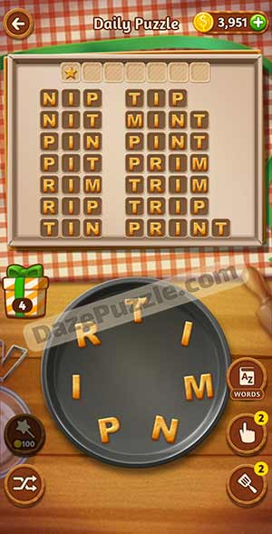 word cookies March 8 2021 daily puzzle answer