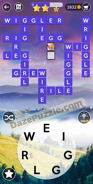 wordscapes March 14 2021 daily puzzle answer