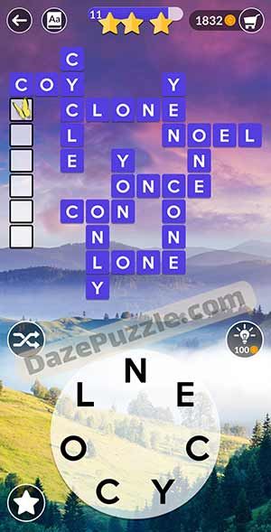 wordscapes March 16 2021 daily puzzle answer