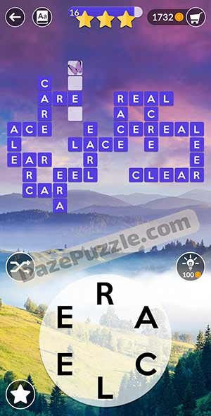 wordscapes March 18 2021 daily puzzle answer