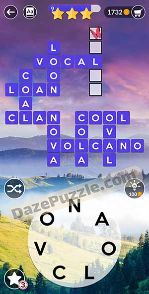 wordscapes March 20 2021 daily puzzle answer
