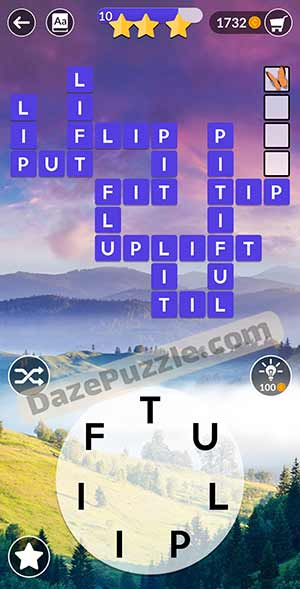 wordscapes March 21 2021 daily puzzle answer