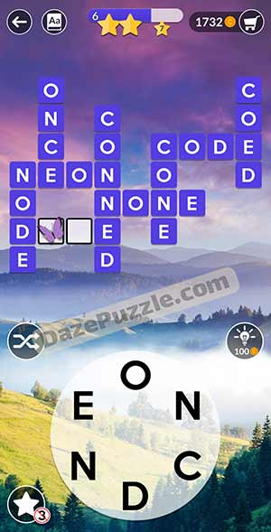 wordscapes March 22 2021 daily puzzle answer