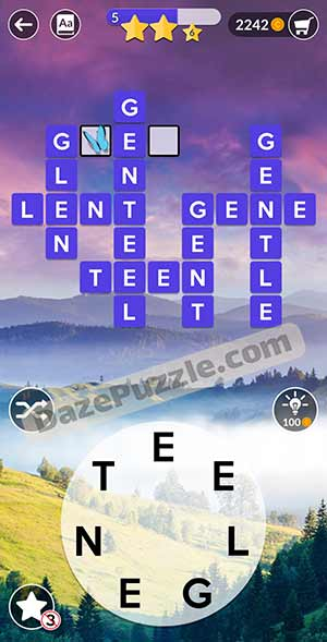 wordscapes March 24 2021 daily puzzle answer