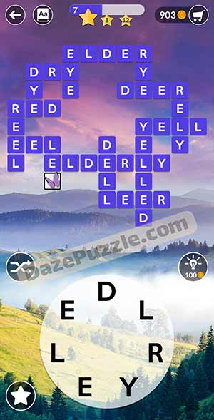 wordscapes March 26 2021 daily puzzle answer