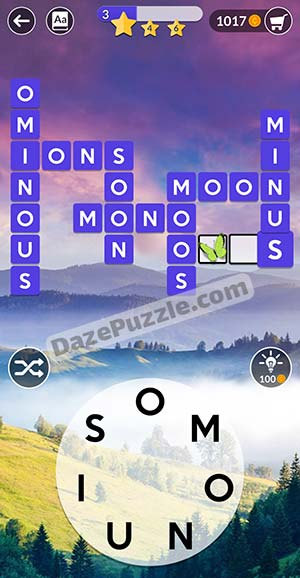 wordscapes march 31 2021 daily puzzle answer
