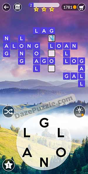 wordscapes March 5 2021 daily puzzle answer