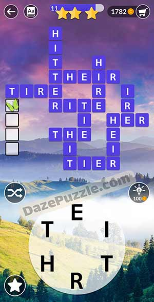 wordscapes March 9 2021 daily puzzle answer