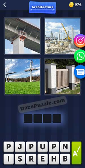 4 pics 1 word april 18 2021 daily puzzle answer