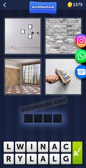 4 pics 1 word april 25 2021 daily puzzle answer