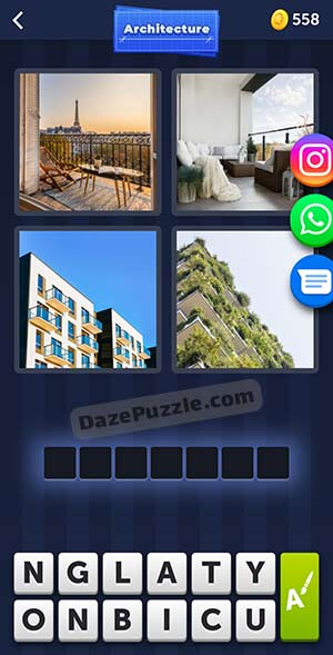 4 pics 1 word april 6 2021 daily puzzle answer