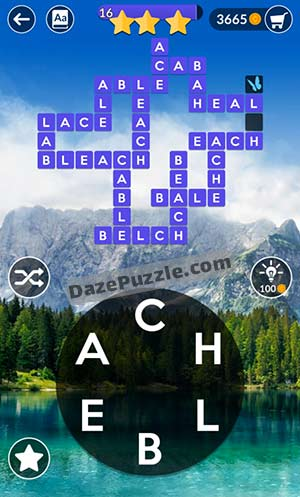 wordscapes april 1 2021 daily puzzle answer