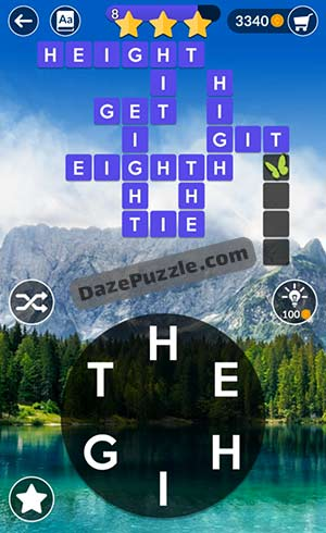 wordscapes april 11 2021 daily puzzle answer