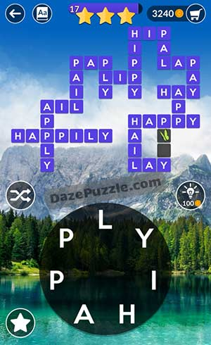 wordscapes april 12 2021 daily puzzle answer