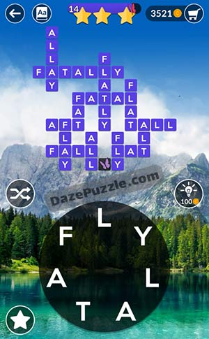 wordscapes april 23 2021 daily puzzle answer