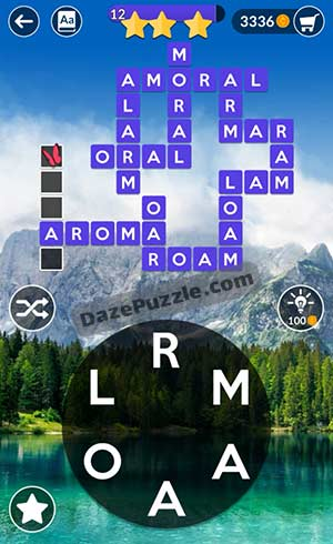 wordscapes april 24 2021 daily puzzle answer