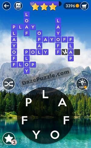 wordscapes april 28 2021 daily puzzle answer