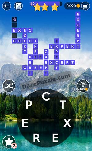 wordscapes april 3 2021 daily puzzle answer