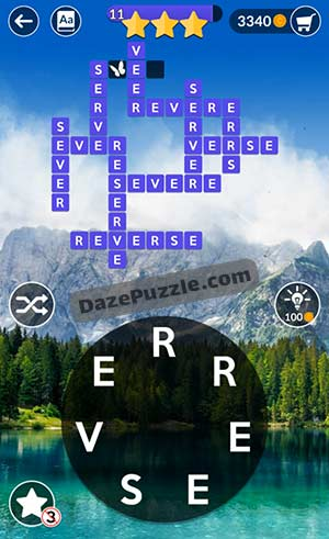wordscapes april 7 2021 daily puzzle answer
