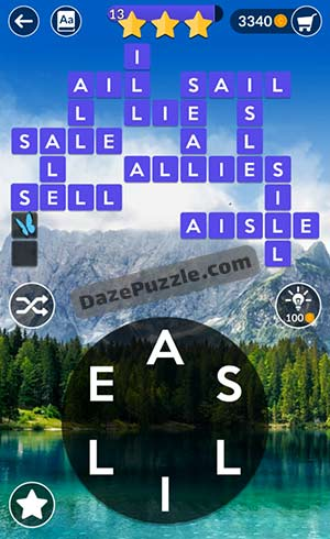 wordscapes april 8 2021 daily puzzle answer