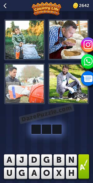 4 pics 1 word may 13 2021 daily puzzle answer