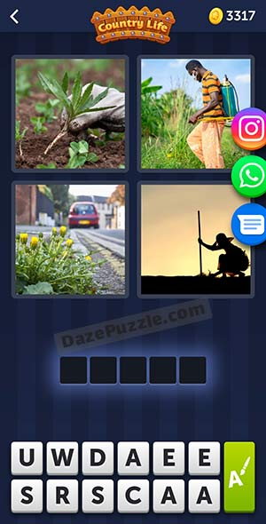 4 pics 1 word may 26 2021 daily puzzle answer
