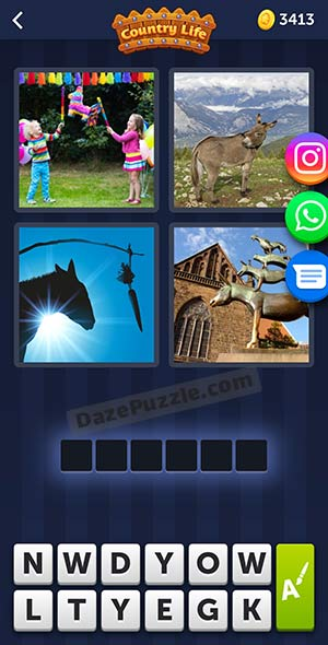 4 pics 1 word may 29 2021 daily puzzle answer