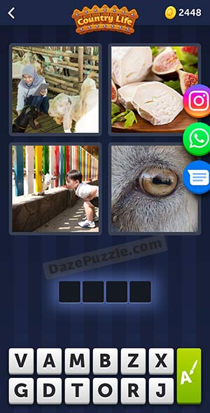 4 pics 1 word may 9 2021 daily puzzle answer