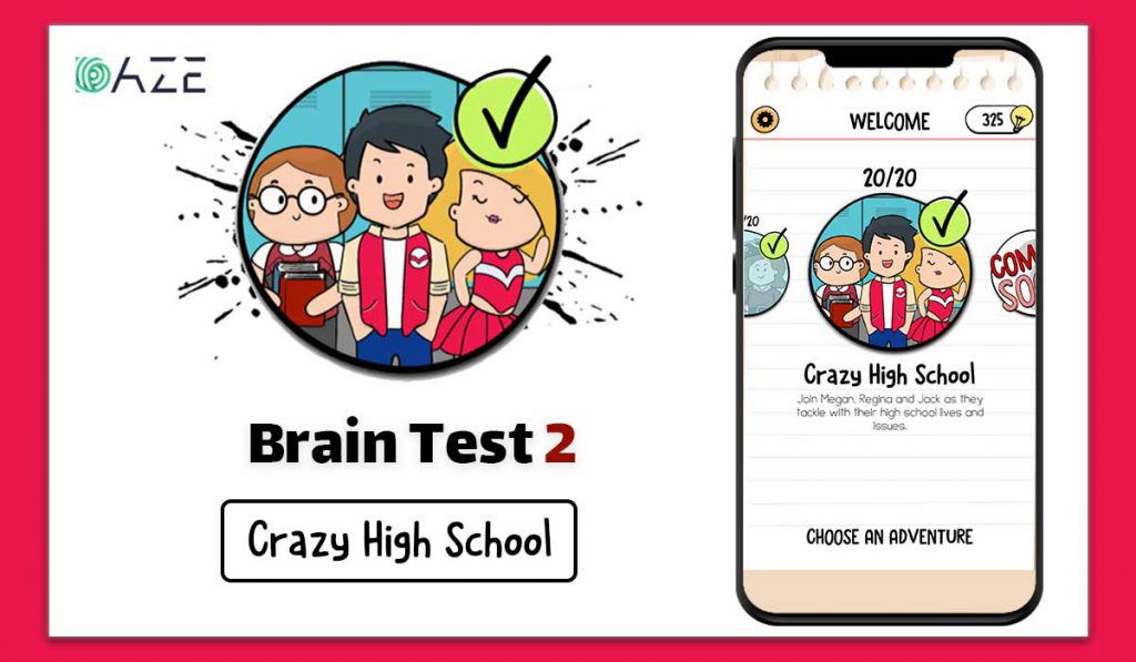 brain test 2 crazy high school answers