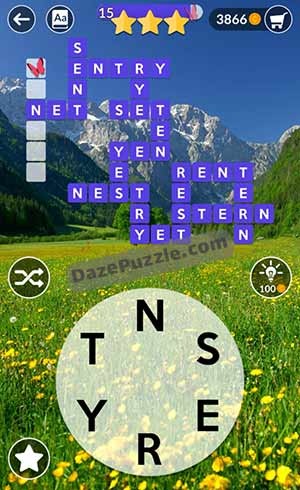 wordscapes may 21 2021 daily puzzle answer