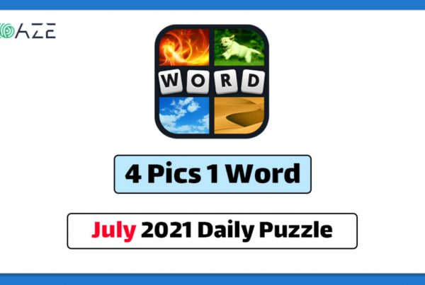 4 pics 1 word july 2021 daily puzzle