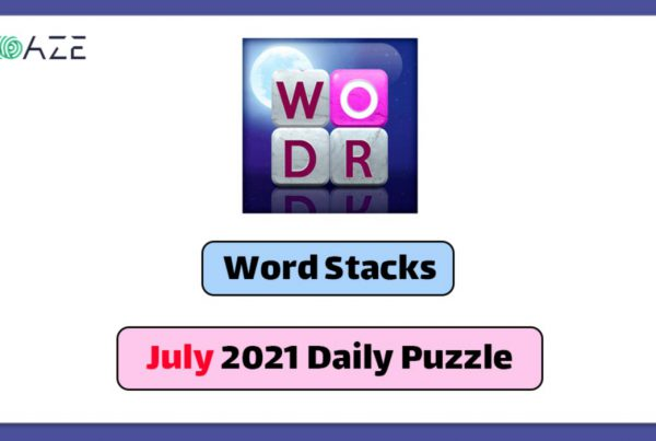 word stacks july 2021 daily puzzle