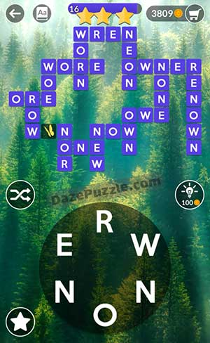 wordscapes july 1 2021 daily puzzle answer