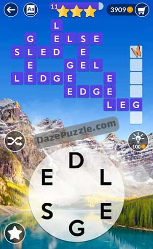 wordscapes june 13 2021 daily puzzle answer