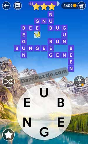 wordscapes june 15 2021 daily puzzle answer