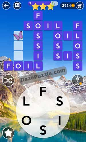 wordscapes june 18 2021 daily puzzle answer