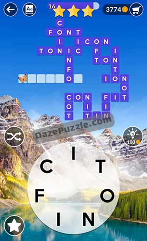 wordscapes june 22 2021 daily puzzle answer