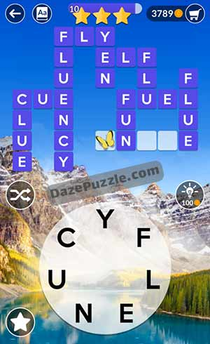 wordscapes june 23 2021 daily puzzle answer