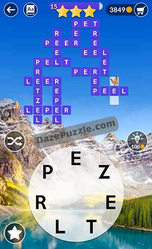 wordscapes june 27 2021 daily puzzle answer